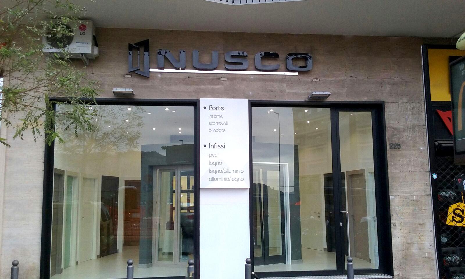 New opening Napoli via Cilea - Nusco SpA porte e infissi