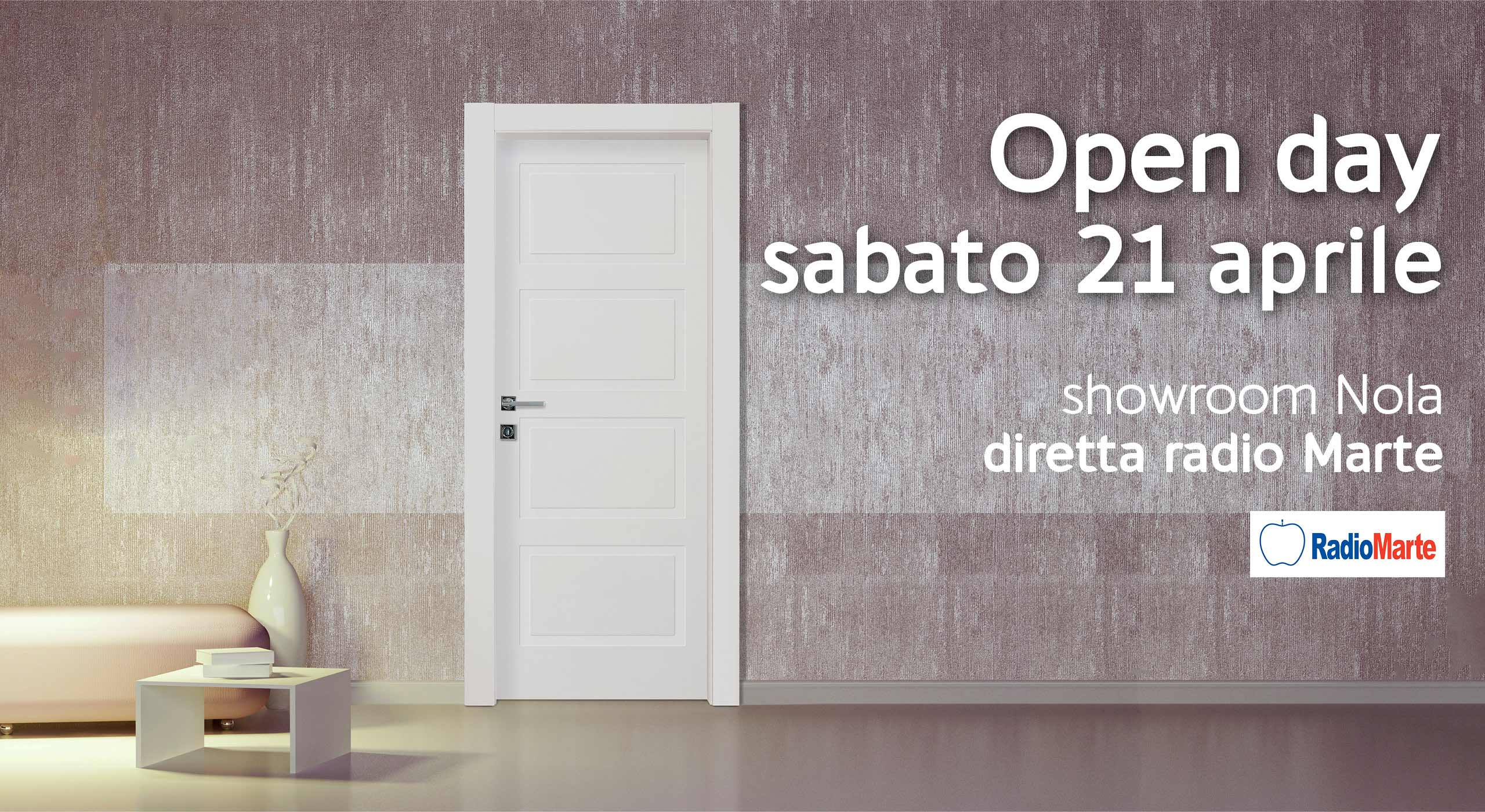 Openday 21 aprile