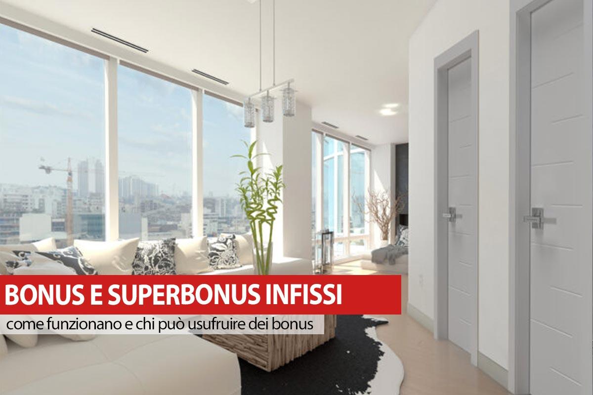 Superbonus infissi 2021